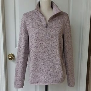 Thread & Supply 1/4 zip sweater large EUC